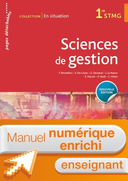 En situation Sciences de gestion 1re STMG - Manuel interactif enseignant - Éd. 2018