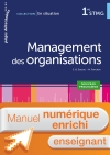 En situation Management des organisations 1re STMG - Manuel interactif enseignant - Éd. 2018