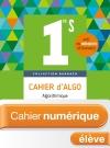 Cahier numérique Barbazo Algo 1ère S - Licence élève enrichie - Ed. 2018