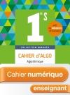 Cahier numérique Barbazo Algo 1ère S - Licence enseignant enrichie - Ed. 2018