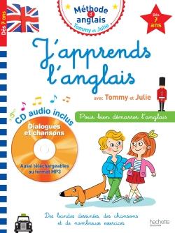 J'apprends l'anglais avec Tommy et Julie dès 7 ans