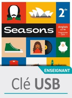 Seasons 2nde - Clé USB classe - Ed. 2019