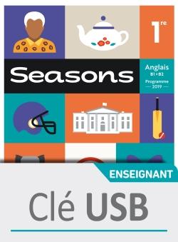 Seasons 1ère - Clé USB classe - Ed. 2019