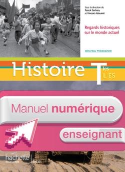 Manuel numérique Histoire Terminales ES/L - Licence enseignant - Edition 2012