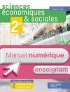 Manuel numérique Sciences économiques et sociales (SES) 2de - Licence enseignant - Ed. 2014