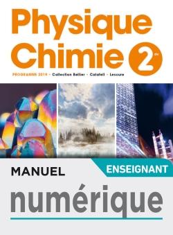 Manuel numérique Physique/Chimie 2nde - Licence enseignant - Ed. 2019