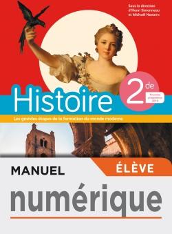 Manuel numérique Histoire 2nde - Licence élève - Ed. 2019
