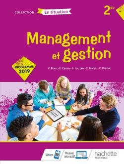 Management et gestion Option 2de - Livre élève - Éd. 2019