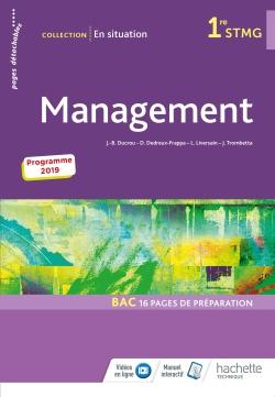 En situation Management 1re STMG - Livre élève - Éd. 2019