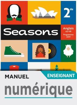 Manuel numérique Seasons 2nde - Licence enseignant - Ed. 2019