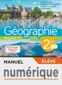Manuel numérique Géographie 2de- licence élève - Ed. 2019