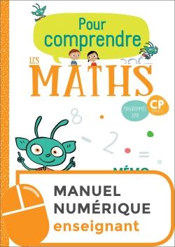 Pour comprendre les maths CP - Fichier numérique simple enseignant - Ed. 2019