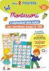 Mon poster Montessori - L'alphabet des sons + Les nombres jusqu'à 100