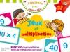 J'apprends avec Sami et Julie : Jeux de multiplication Dès 8 ans
