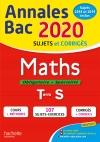 Annales Bac 2020 Maths Term S