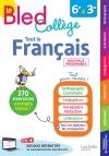 Bled Français Collège