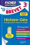 Objectif Brevet 3e - Fiches détachables Histoire-Géographie-Éducation civique