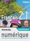 Manuel numérique L'écume des lettres 2nde/1ère anthologie + méthodes - Licence enseignant - Ed. 2019
