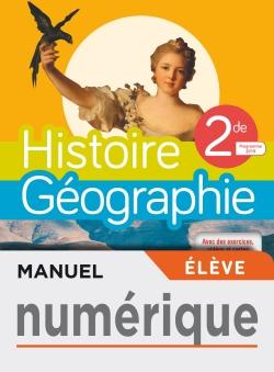 Manuel numérique Histoire/Géographie 2nde compilation - Licence élève - Ed. 2019