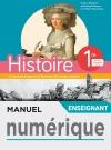 Manuel numérique Histoire 1ère - Licence enseignant - Ed. 2019