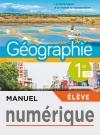 Manuel numérique Géographie 1ère - Licence élève - Ed. 2019
