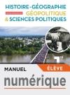 Manuel numérique Hist/Géo, Géopolitique, Sciences politiques 1ère spé- Licence élev - Ed. 2019