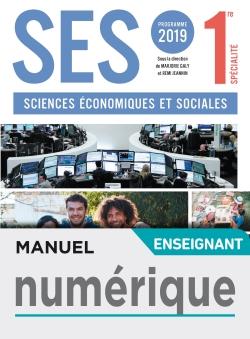 Manuel numérique SES 1ère - Licence enseignant - Ed. 2019