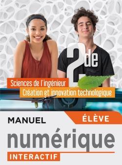 Sciences de l'ingénieur CIT Option 2de - Manuel interactif élève - Éd. 2019