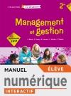 Management et gestion Option 2de - Manuel interactif élève - Éd. 2019
