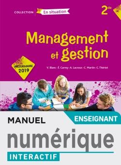 Management et gestion Option 2de - Manuel interactif enseignant - Éd. 2019