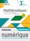 Calao Mathématiques 1re STI2D, STL - Manuel numérique enseignant - Éd. 2019