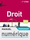 Enjeux et Repères Droit 1re STMG - Manuel numérique enseignant - Éd. 2019