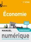 Enjeux et Repères Économie 1re STMG - Manuel numérique enseignant - Éd. 2019