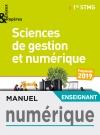 Enjeux et Repères Sciences de gestion et numérique 1re STMG - Manuel numérique enseignant - Éd. 2019
