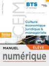 Grand angle Culture économique, juridique et managériale BTS 2 - Manuel numérique élève - Éd. 2019