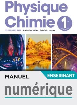 Manuel numérique Physique-Chimie 1ère - licence enseignant - Ed. 2019