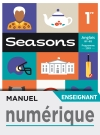 Manuel numérique Seasons 1ère - Licence enseignant - Ed. 2019