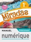 Manuel numérique Miradas 1ère - Licence enseignant - Ed. 2019