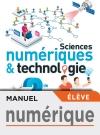 Manuel numérique Sciences numériques et technologie 2nde - Licence élève - Ed. 2019