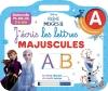 DISNEY REINE DES NEIGES 2 - J'écris les lettres majuscules (3-6 ans)