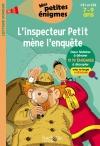 L'inspecteur Petit mène l'enquête CE1 et CE2 - Cahier de vacances
