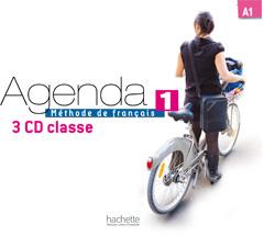 Agenda 1 - CD audio classe (x3)