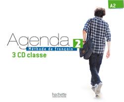 Agenda 2 - CD audio classe (x3)