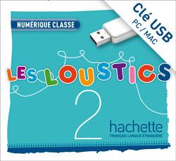 Les Loustics 2 : Manuel numérique enseignant (clé USB)