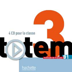 Totem 3 - CD Audio pour la classe