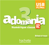 Adomania 3 : Manuel numérique classe enseignant (clé USB)
