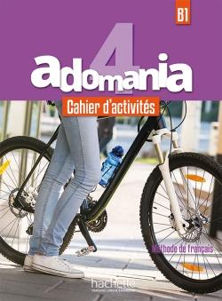 Adomania 4 - Cahier d'activités + CD audio