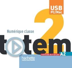 Totem 2 : Manuel numérique enseignant (clé USB)