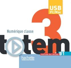 Totem 3 - Manuel numérique enseignant (clé USB)