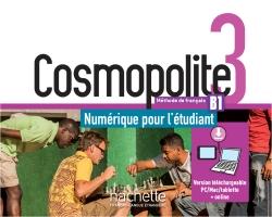 Cosmopolite 3 : Manuel numérique élève
